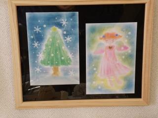 パステルでクリスマスツリーを指で描いてみましょう.jpg